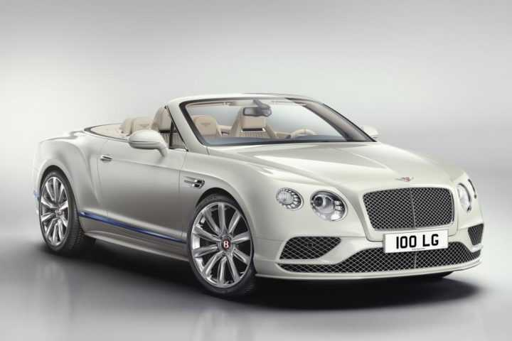 2017 Bentley Continental GT Convertible front