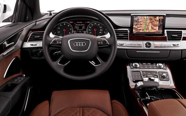 Audi A8 geofencing