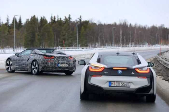 2018 Bmw I8 Roadster Teased In Official Spy Shots