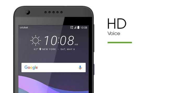 HTC Desire 555 HD voice