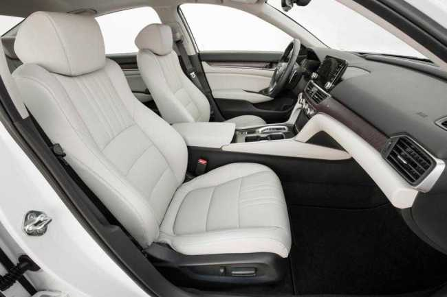 Honda Accord seating