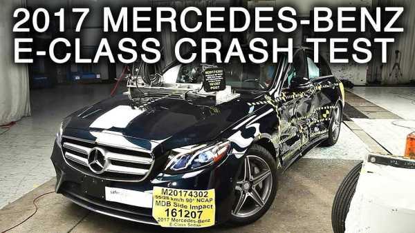 Mercedes Benz E Class Crash Test