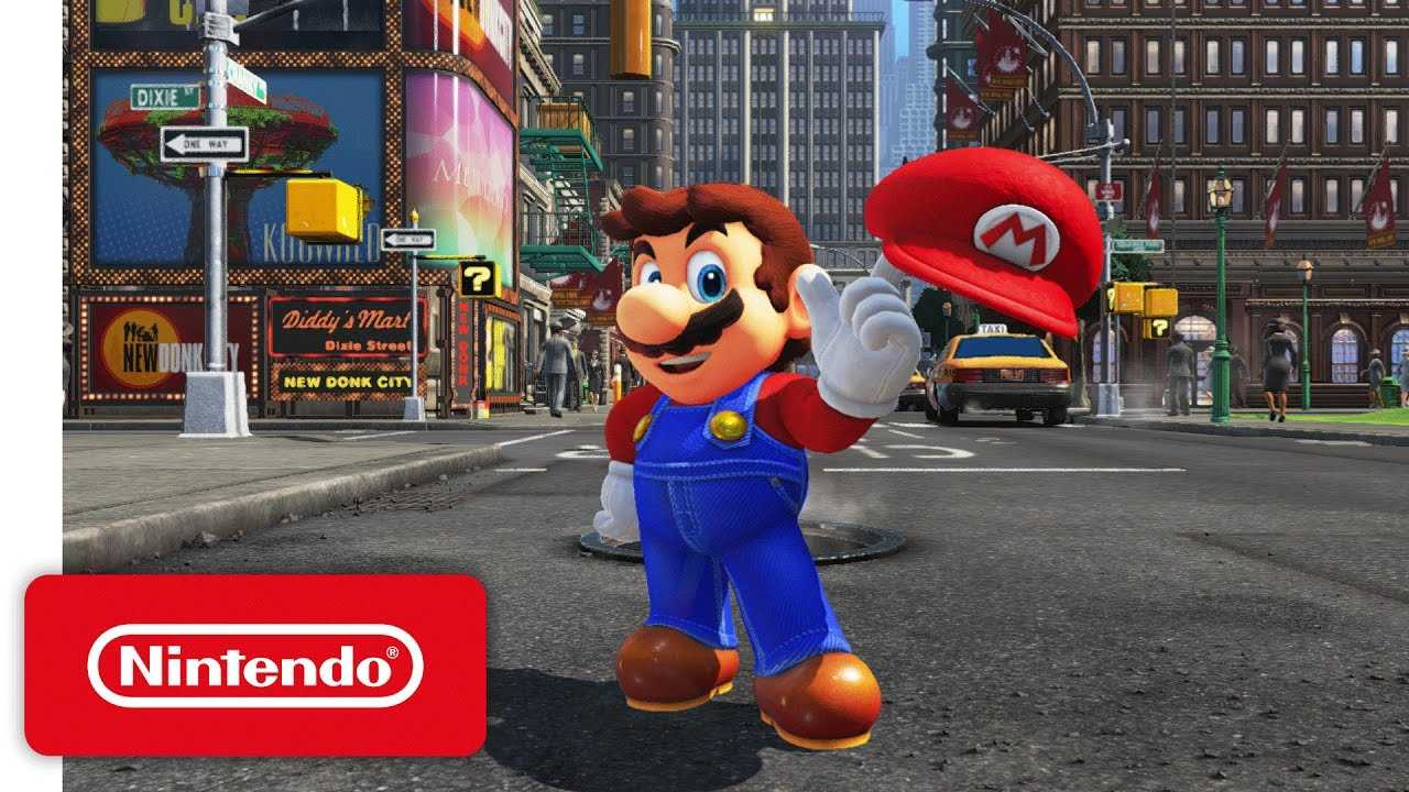 Super Mario Odyssey On Nintendo Switch Swaps Coins With Game