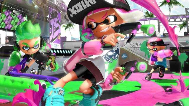 Nintendo switch Splatoon 2