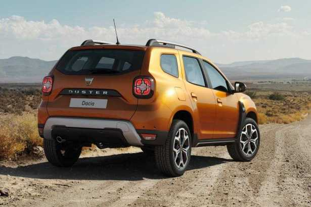 2018 Dacia Duster SUV features