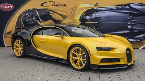 Bugatti Chiron U.S. Pebble Beach Show