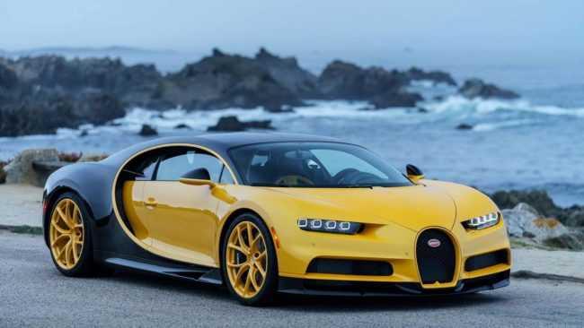 Bugatti Chiron at Pebble Beach