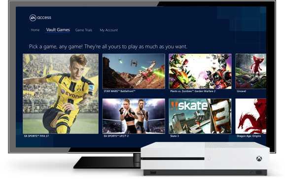 FIFA 17 EA Access