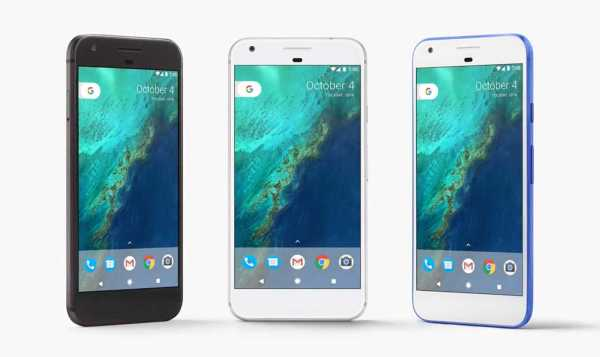 Google Pixel and Pixel XL Phones