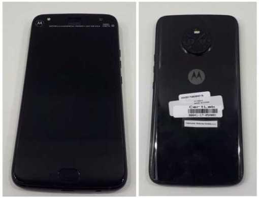 Motorola Moto X4 rear
