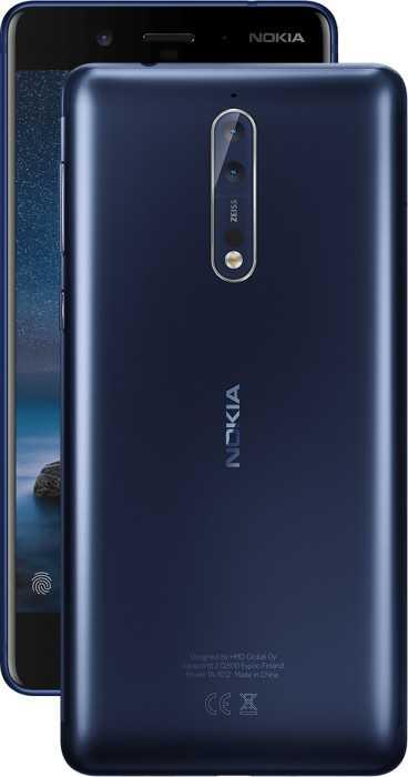 Nokia 8 dual lens