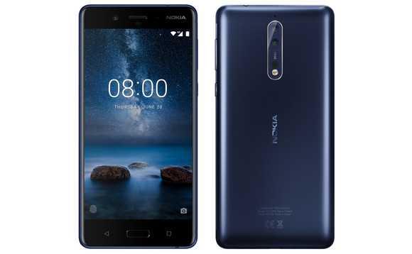 Nokia 8 look