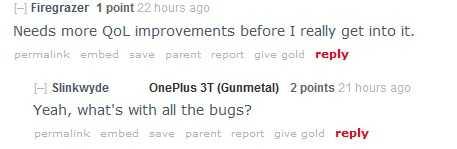 OnePlus 3 fears bugs