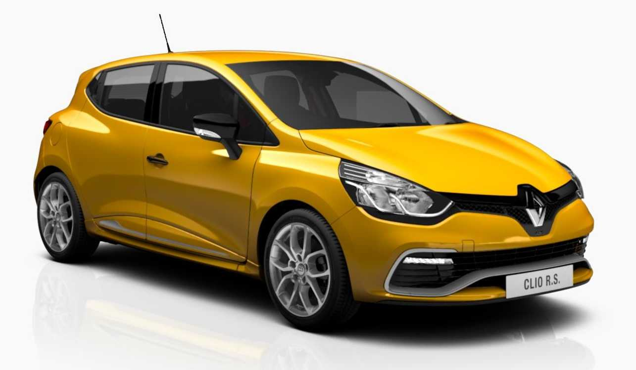 renault upgrades clio rs with black edition tweaks. Black Bedroom Furniture Sets. Home Design Ideas