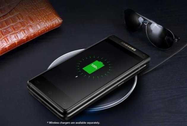 Samsung Flip Phone wireless charing