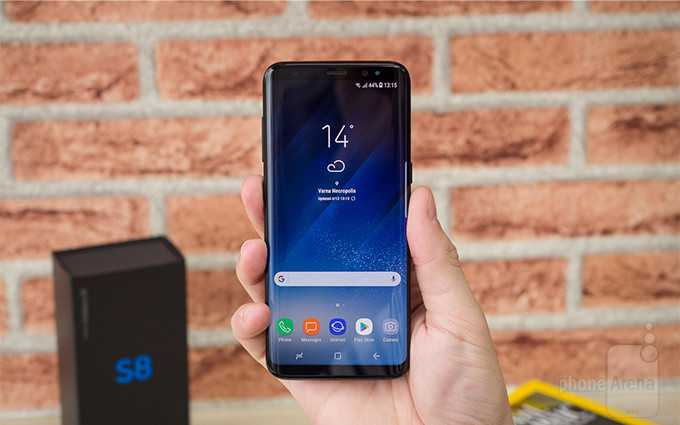 Samsung Galaxy S8 look