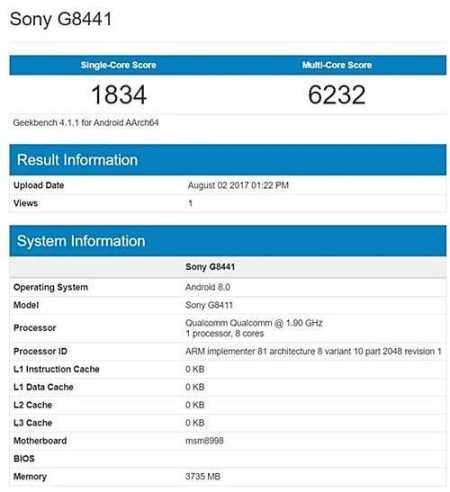 Sony G8341