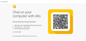 Google Allo for Web