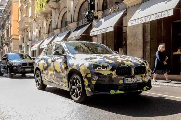 BMW X2 SUV first look teaser