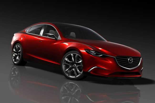 Mazda front