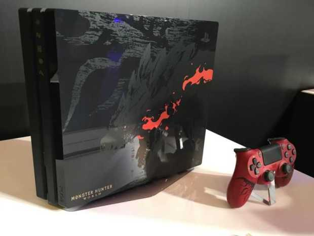 Monster Hunter World PS4 Pro Bundle