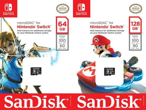 SanDisk Launches Mario, Zelda Branded SD Cards