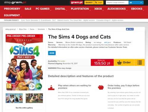 The Sims 4 Cats & Dogs DLC