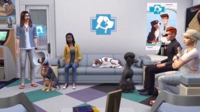 The Sims 4 Cats & Dogs EA