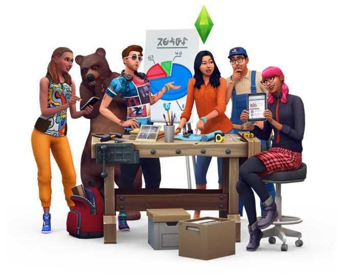 The Sims 4 Stuff Packs