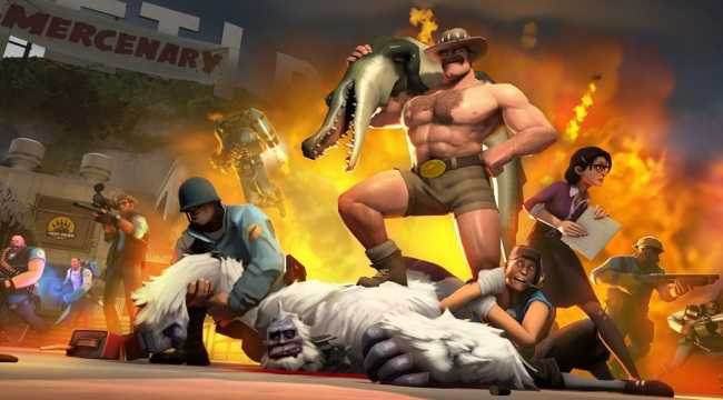 Team Fortress 2 Headed to the Wilds of Jungle Inferno