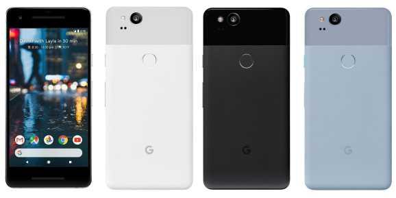 Google Pixel 2 rear