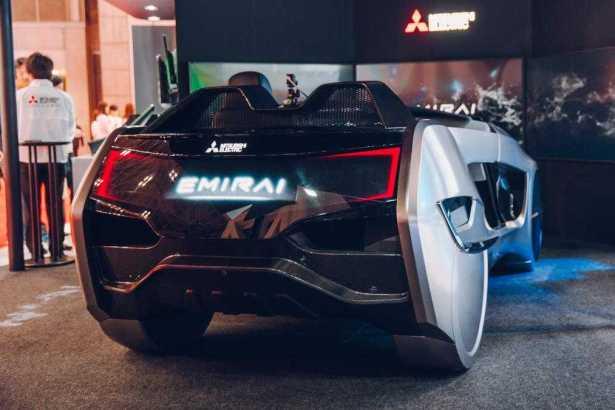 Mitsubishi Emirai 4 EV at Tokyo Motor Show