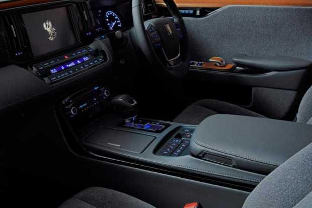 Toyota Century Luxury Limo interior