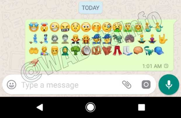 Whatsapp Android Update Brings New Emojis
