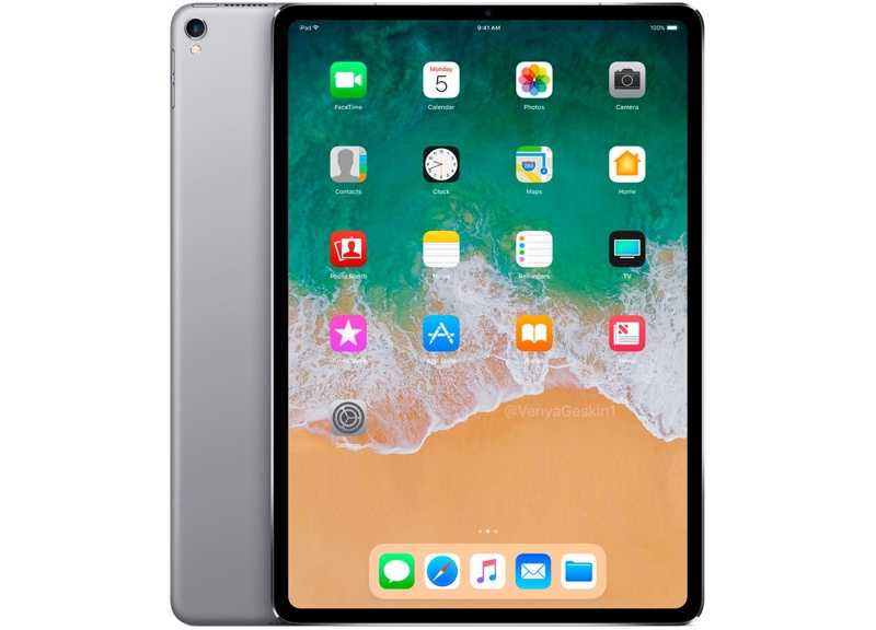 Here's what an nearly  bezel-free iPad Pro 3 could look like