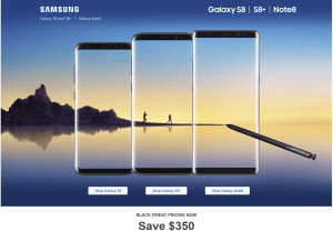 Samsung Galaxy S8, Note 8 Best Buy