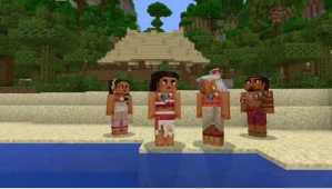 Minecraft Gets New Character Pack Inspired by Disney's Moana