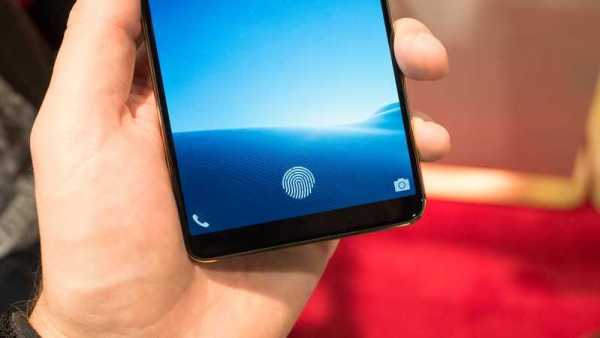 Vivo's In-Display Fingerprint Sensor