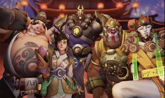 Overwatch Announces Lunar New Year Event
