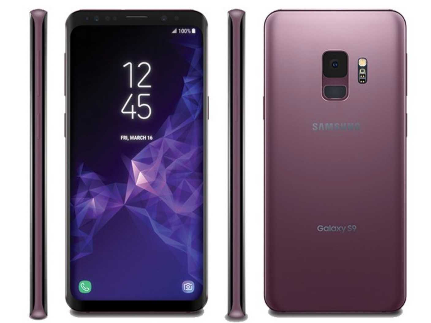 Samsung Galaxy S9 Will Sport Front Facing Speakers