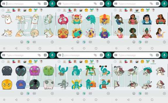 Six New Sticker Packs and Animated Stickers Heading to Whatsapp on Android Soon