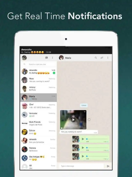 Whatsapp Web Interface Will Soon Support Voice Calling on iPad