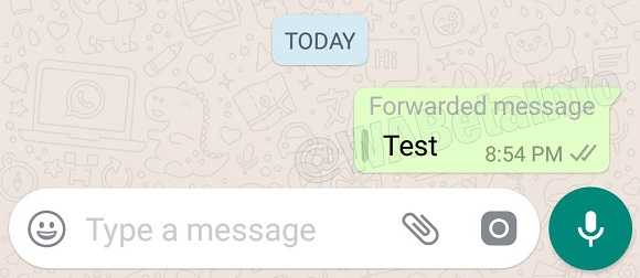Whatsapp is Taking Steps Against Spam with New Forward Message Tag