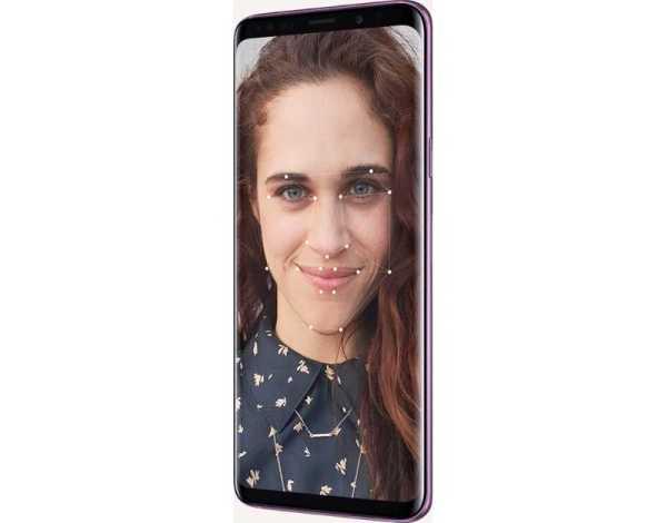 Galaxy S9 facial recognition