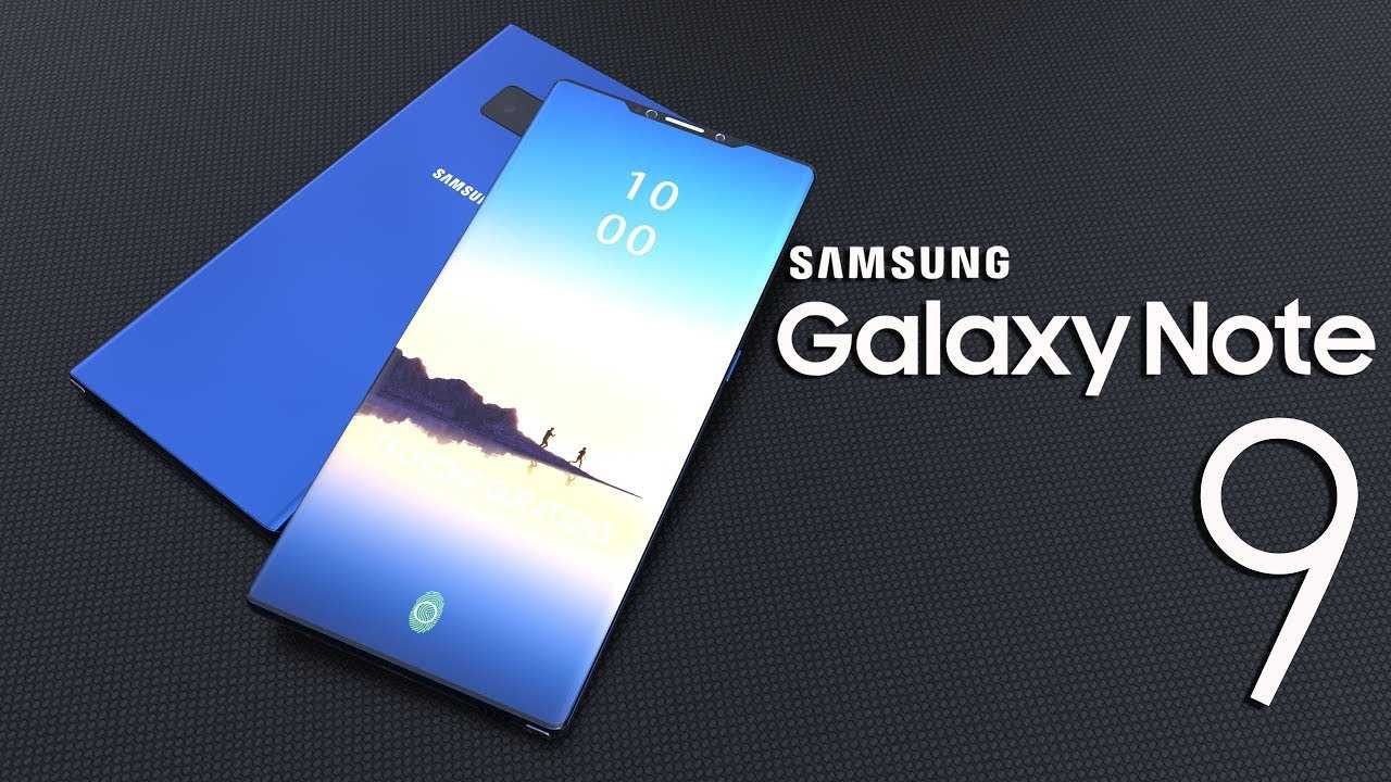 New Leak Suggest Galaxy Note 9 has In Display Fingerprint Sensor