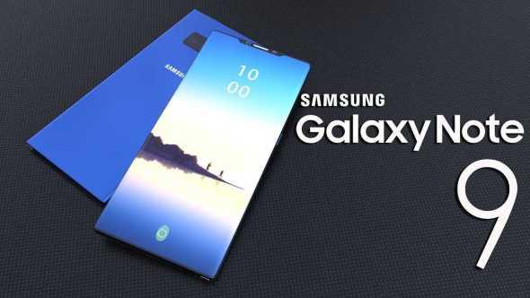 New Leak Suggest Galaxy Note 9 has In-Display Fingerprint Sensor