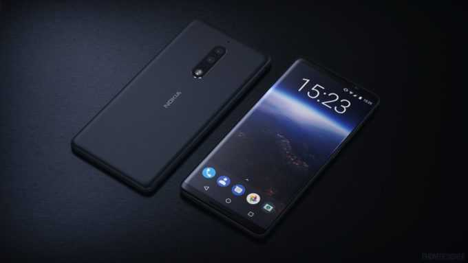 Nokia 9 vs iPhone X In-display Fingerprint Scanner and Top Notch Incoming