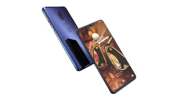 OnePlus 6 HD Render