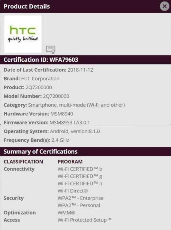 HTC 2Q7200000