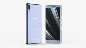 Sony Xperia L3 renders